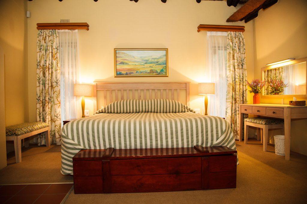mount sheba self catering bedroom